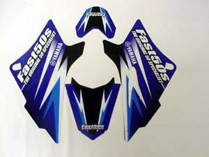 Fast50s - Fast50s Team Blue Graphics for Yamaha ttr50