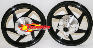 "Fast50s - Fast50s Anodized Billet Wheels 10"" or 12"" Available"