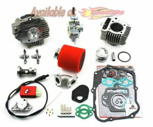 Trail Bikes - Trail Bikes 88cc Big Bore Kit, 20mm Carb Kit & Race Head - Z50 (1988-99),  XR50  CRF50  XR70  CRF70 (All)