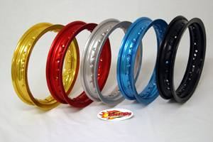 Fast50s - Fast50s Fast Wheels Hoop and Optional Spoke Kit - 10 inch-xr/crf50