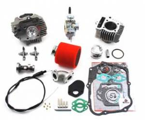 Trail Bikes - Trail Bikes 88cc Big Bore Kit (6V) + Race Head + 20mm Carb Kit - Z50 (82-87),  CT70 (1982)
