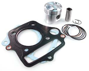 Wiseco - Wiseco High Compression 50cc Kit - for Stock Honda (39mm - 11:1)