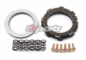 Trail Bikes - Trail Bikes Replacement Clutch Plate Kit with HD Springs - KLX110  KLX110-L  DRZ110