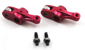Trail Bikes - Trail Bikes V2 Anodized Red Aluminum Roller Rocker Set