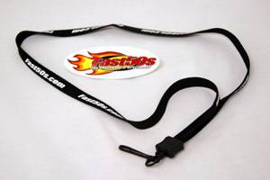 Fast50s - Fast50s Black Lanyard - Image 1