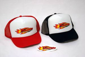 Fast50s - Fast50s Flame Trucker Hat - Image 1