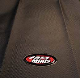 FastMinis - FastMinis Black Supragrip Seat Cover (Standard OR Tall) - KLX110 KLX110-L DRZ110 - Image 1