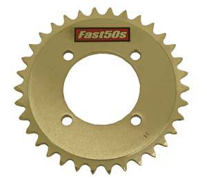 Fast50s - FastMinis Rear Sprockets - Yamaha TTR90 - Image 1