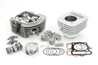 Takegawa - Takegawa SuperHead Bore Up Kit   xr/crf100 (115cc/Stage-3/plated cylinder) - Image 1