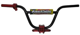 Fast50s - Fast50s 8 inch Standard Bar + Bar Clamp + Billet Throttle Kit - XR50  CRF50  - Image 1