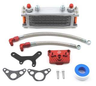 Trail Bikes - Trail Bikes Oil Cooler Kit 2 - Z50  XR50  CRF50  XR70  CRF70