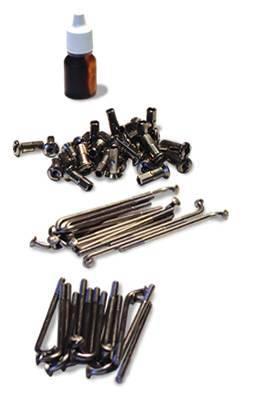 Fast50s - Fast50s Heavy Duty 10 inch  Spoke Kit for Honda xr/crf50 (10 gauge)