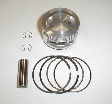 Trail Bikes - Trail Bikes Piston Kit - 88cc - For Stock Honda 50 Head