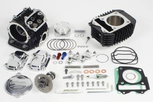 Takegawa - Takegawa 181cc Super Head 4 Valve +R Bore Up Kit - Honda GROM   MSX125