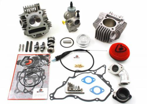 KLX110 V2 Race head 165cc kit with 24mm carb kit