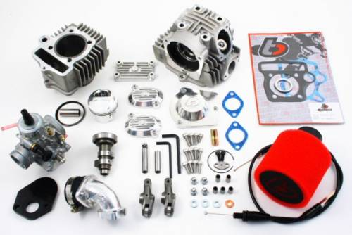 Trail Bikes - Trail Bikes 88cc Big Bore Kit + Race Head V2 + Mikuni VM26 Carb Kit - Z50  XR50  CRF50