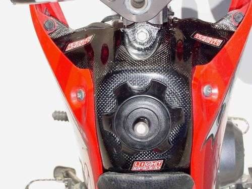 FastMinis - Lightspeed Carbon Fiber Tank Cover - XR50  CRF50 - Image 1