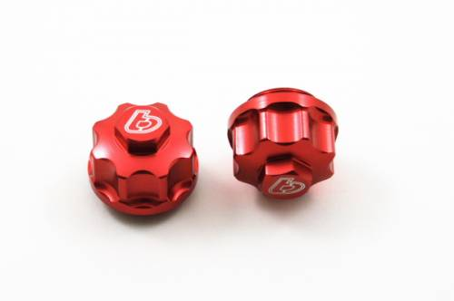 Trail Bikes - Trail Bikes BILLET RED TAPPET COVERS -  Z50  CRF50  XR50  CT70  & PIT BIKES