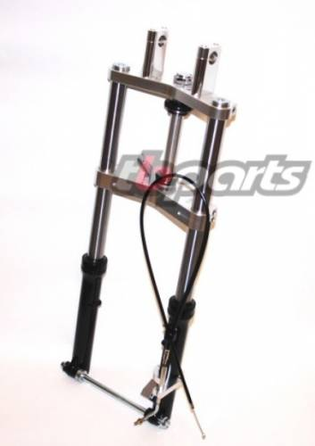Complete Fork kit w/ forks and clamp kit