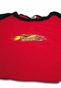 Fast50s Clothing & Accessories - Fast50s - Women's Red Capsleeve Shirt