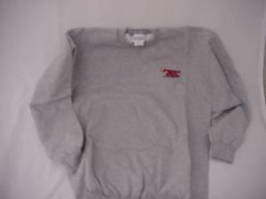 Fast50s Crew Embroidered Sweatshirt Grey 50% OFF