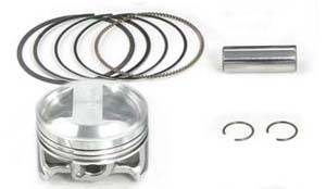 Takegawa - Takegawa 124cc Piston Kit Super Head +R  - KLX110  KLX110L  DRZ110