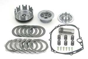 Kawasaki KLX110 - Suzuki DRZ110 - Takegawa - Heavy Duty 6 Disk Clutch for Takegawa Manual Clutch Kit - KLX110  KLX110-L  DRZ110