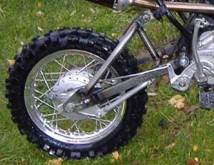 FastMinis Chromoly Swingarm, 2 Inch Extended - KLX110 KLX110-L DRZ110