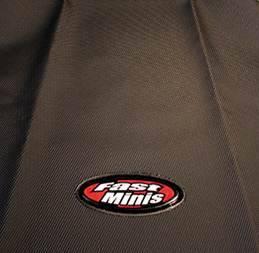FastMinis - FastMinis Black Supragrip Seat Cover - Yamaha TTR125