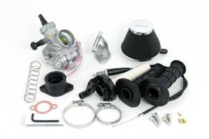 Yamaha TTR50 - Takegawa - Takegawa Yamaha ttr50 Big Carb Kit (VM26) for SuperHead+R (includes throttle and cables)