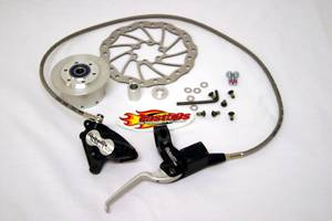 Honda XR50 - CRF50 - CONTROLS - Magura - Magura Front Disk Brake for Fast50s Speed Forks
