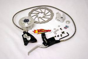 Honda XR50 - CRF50 - CONTROLS - Magura - Magura Front Disk Brake for Stock Forks