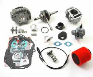 Trail Bikes 108cc Stroker Crank Kit 3, Conversion from Stocker -  Z50 (88-99),  XR50  CRF50  XR70  CRF70  CT70