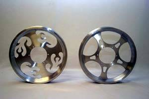 Fast50s - Fast50s SPEED WHEEL 12 inch Billet Aluminum Wheel-xr/crf 50 - Image 1