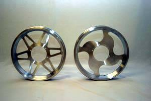 Fast50s - Fast50s SPEED WHEEL 12 inch Billet Aluminum Wheel-xr/crf 50 - Image 2