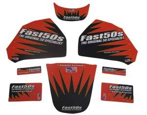 Fast50s Team Issue Graphics 1992-99-Honda z50
