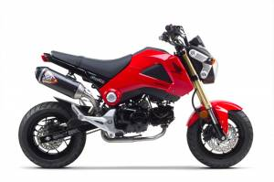 Honda Grom - MSX125 - Two Brothers Racing - Two Brothers Honda Grom SR1 Carbon Fiber Exhaust