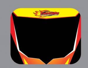 Firestorm 2000-12 Number Plate