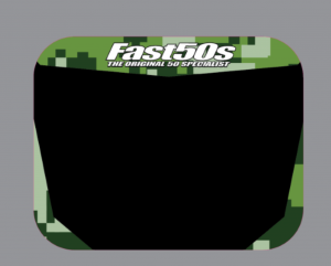 FastCraft 2000-12 Number Plate