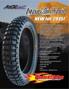 New Items - Fast50s - MotoZ Mountain Hybrid 18 inch Rear Tire