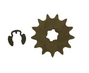 Honda XR100 - CRF100  - Fast50s - FastMinis Front Sprockets - XR80  CRF80  XR100  CRF100