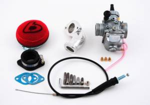 Trail Bikes 26mm Performance Carburetor Kit (Stock Head)  - KLX110  KLX110-L  DRZ110