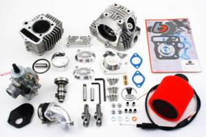 Honda XR70 - CRF70  - POWER - Trail Bikes -  Trail Bikes 88cc Big Bore Kit + Race Head V2 + Mikuni VM26 Carb Kit - Z50  XR50  CRF50