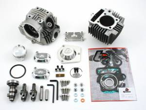 Trail Bikes 114cc Big Bore Kit + V2 Race Head - Honda TRX90