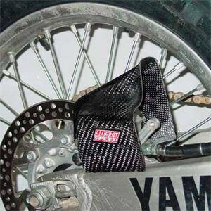 Big Dirt - FastMinis - Lightspeed Carbon Fiber Air duct for rear brake units - Various Big Bikes