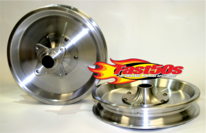"Fast50s Anodized Billet Wheels 10"" or 12"" Available"