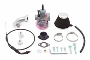 Honda XR50 - CRF50 - Takegawa - Takegawa VM26 Carb Kit  for 4 V Takegawa head Honda XR50/XR70 - All parts included