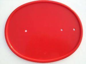 Red # plates (1232)