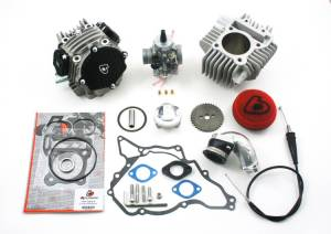Kawasaki Z125 - Trail Bikes - Trail Bikes - 143cc Race Head Upgrade Kit and or upgrade with 26mm Carb kit for KLX110 & DRZ110