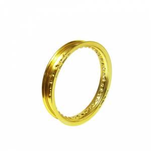 Gold 12 or 14 Inch hoop